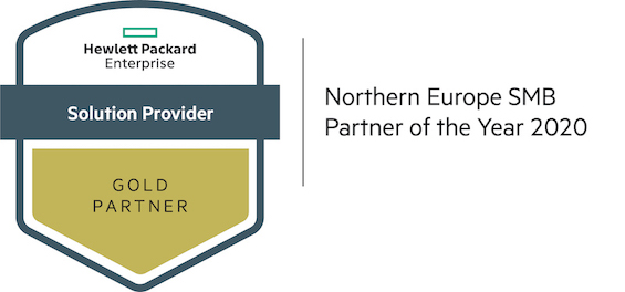 H&R wint HPE Northern Europe SMB Partner of the Year 2020 afbeelding